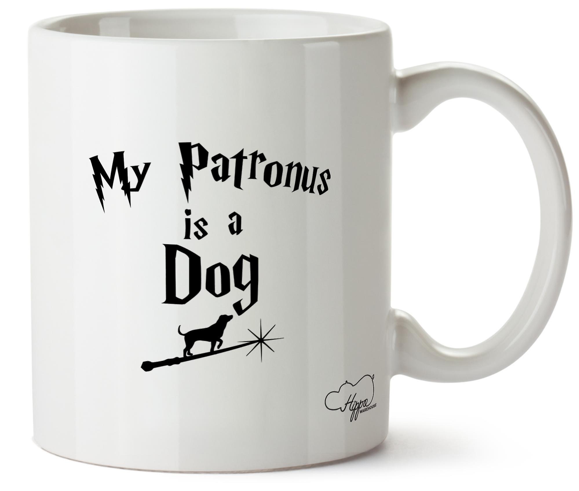 Hippowarehouse My Patronus Is A Dog Printed Mug Cup Ceramic 10oz