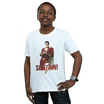 DC Comics Boys Shazam Bubble Gum T-Shirt