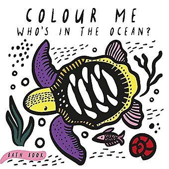 Me coloris: Qui est dans l'océan? (Wee Gallery)