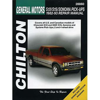 GM S10/S15/Sonoma Pick-ups  - 1982-93 by Chilton Automotive Books - T