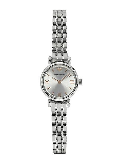 Emporio Armani Ar1935 Round Analog Silver Dial Ladies Watch