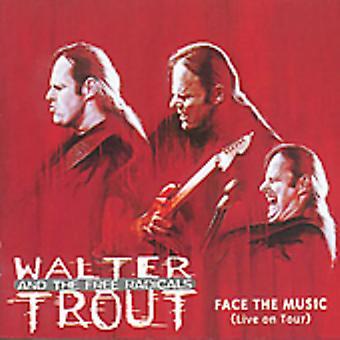 Banda Walter Trout - Face à importação de música [CD] EUA