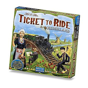 Ticket To Ride Expansion Nederlands Map Collection Board Game