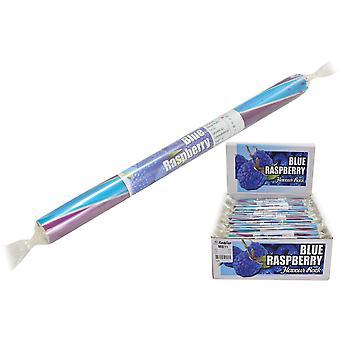 Packung mit 20 kleinen aromatisierten Rock Sticks - Blaue Himbeere