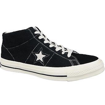 Converse One Star Ox Mid Vintage Wildleder 157701C Herren Plimsolls