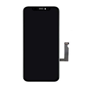الاشياء المعتمدة® شاشة iPhone XR (شاشة تعمل باللمس + LCD + أجزاء) AA + الجودة - أسود