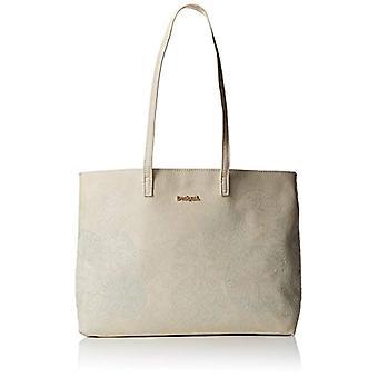Desigual Bols_zoe Seattle mulher sacos de ombro branco (cru) 13x 29.5 X38 cm (B x H x T)