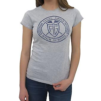 Power Rangers Angel Grove hoge vrouwen ' s T-shirt