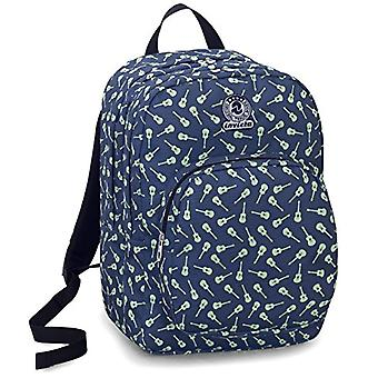 Backpack Strong Invicta - BEAT - Blue - 38 Lt - For Laptop - Double compartment - school and leisure