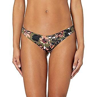 RVCA Junior's RONI Cheeky Bikini Bottom, Forest, M, Forest, Size Medium