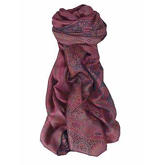 Mens Jamawar Premium Silk Scarf Pattern 4029 by Pashmina & Silk