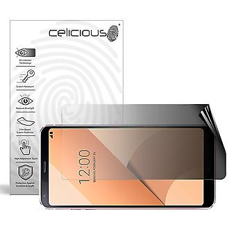 Celicious Privacy 2-Way Landscape Anti-Spy Filter Screen Protector Film Compatible with LG G6+