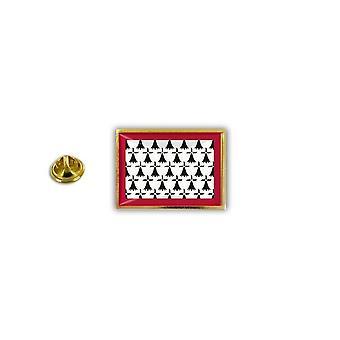 Pins Pin Badge Pin's Metal Broche Pince Papillon Drapeau Limousin France