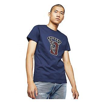 Diesel T Diego B4 T Shirt Marine