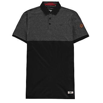 D555 Mens Stefhen Polo Shirt T-Shirt Top Short Sleeve