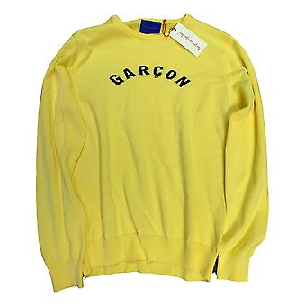 Les garcons faciles aaron knitted jumper