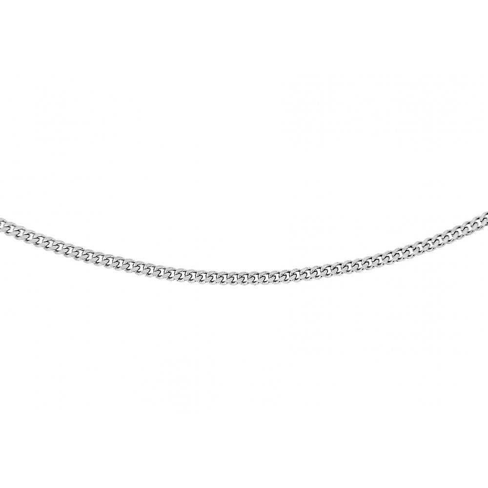 Eternity Sterling Silver 18'' Tight Curb Chain