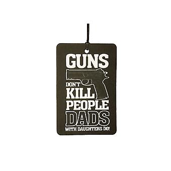 Guns Don't Kill People Car Air Freshener