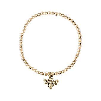 GEMSHINE damer eller jenter ' armbånd BIENE i 925 sølv, gullbelagt eller Rose