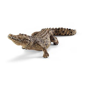 Schleich Wild Life Crocodile Toy Figure (14736)