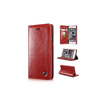 Case For IPhone 6 Plus Red Wallet