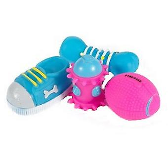 Ancol Small Bite Puppy Toy Selection (Pack de 4)