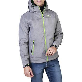 Geographical norway - twixer_man men's jacket, green + grey