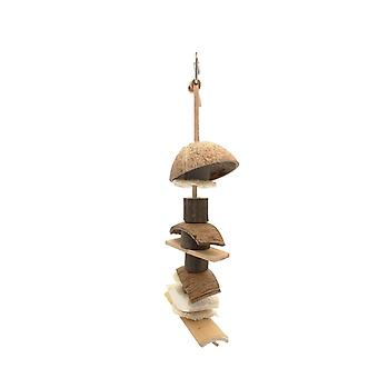 Nature First Coconut Kebab Bird Toy