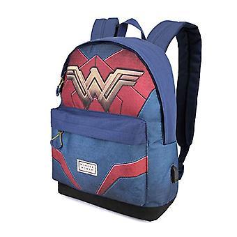 Karactermania Wonder Woman Emblem-HS Rucksack Casual Backpack - 42 cm - 23 liters - Multicolor (Multicolour)
