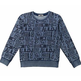 Dirkje Dj Dutch jeans Blue Boys Sweater Body Mind Project