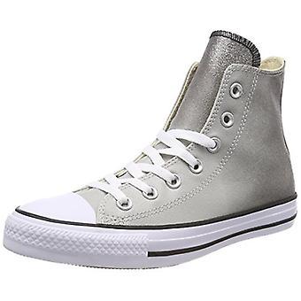 Converse Ct Hi Hombres Zapatos Talla 8 Gris/Blanco