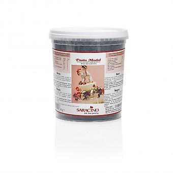 Saracino modellerings pasta-sort-1kg-enkelt