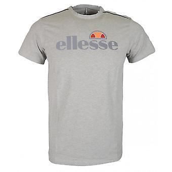 T-shirt en coton Grey Marl Ellesse Giniti