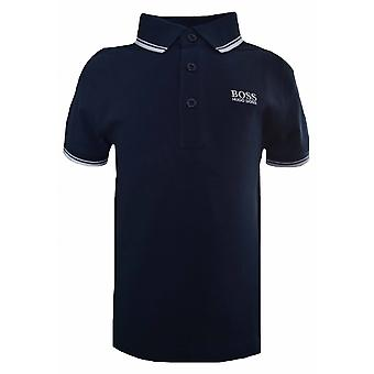 Hugo Boss Boys Hugo Boss Infants And Kids Navy Blue Polo Shirt