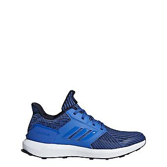 Adidas Boys Rapidarun tricotat pantofi