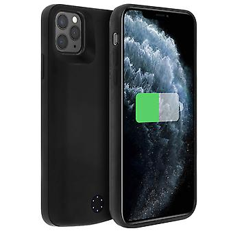 2 in 1 Rigid Case with Built-in 6000mAh Battery for iPhone 11 Pro Max, Black