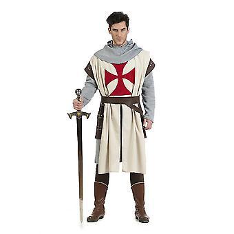 Knights Templar zwaard vechter tempel orde heer kostuum