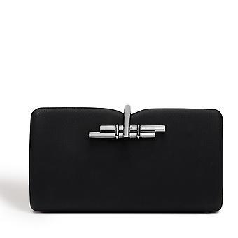 Allegro Vegan Black Clutch Bag