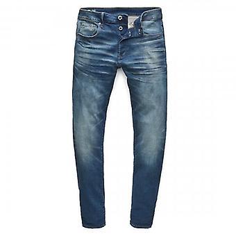 G-Star Raw 3301 Slim Worker Blue Faded Denim Jeans 51001 A088 A888