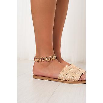 Leaf Tassel Anklet