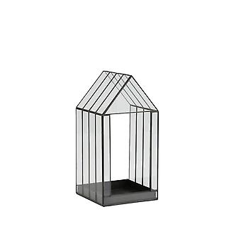 Light & Living Deco Box 25x24x50cm Berogy Glass-Black