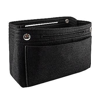 Monitoiminen säilytyslaukku - Musta