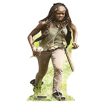 Kävelevä kuollut Michonne pahvi cutout