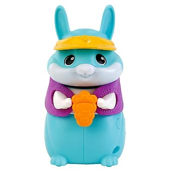 Vtech PetSqueaks Nibble the Bunny Pocket Sized Robotic Pet Blue