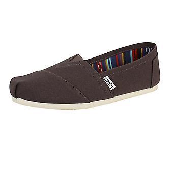 Toms men's ash classic canvas shoes