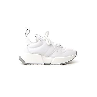 Mm6 Maison Margiela S66ws0004p3024t1002 Women's White Leather Sneakers