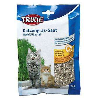 Trixie Hierba gatos con Recambio, 100% (Cats , Cat Nip, Malt & More)