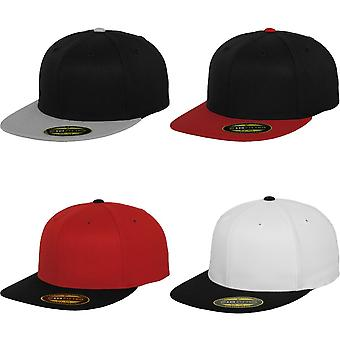 Flexfit By Yupoong Premium 210 Fitted Two Tone Baseball Cap