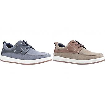 Hush Puppies Mens Aiden Lace Up Boat Shoe