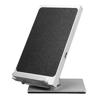 10W 2 spoler 360 graders rotasjon 9v qi trådløs hurtiglader desktop holder for iphone x 8 pluss s8 s9